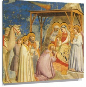 Miniatura Adoration of the Magi
